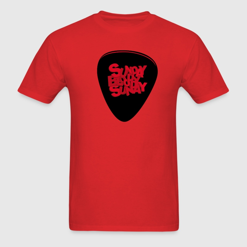 Red Bloody Bloody Sunday T-Shirts - Men's T-Shirt