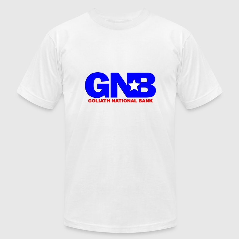 White GNB Barney How Met Mother T-Shirts - Men's Fine Jersey T-Shirt