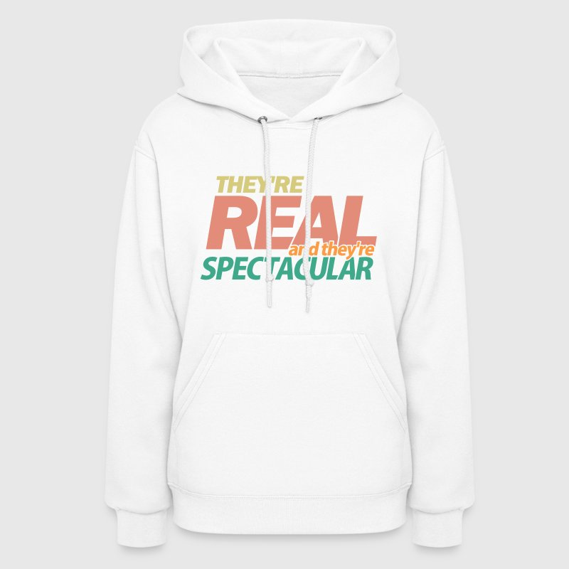 White Seinfeld Real Spectacular  Hooded Sweatshirts - Women's Hoodie