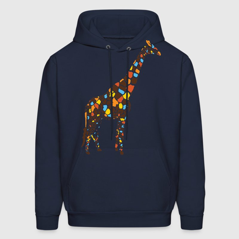 Colorful Giraffe Hoodie | Spreadshirt