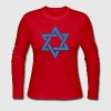 Red Star of David Long Sleeve Shirts - Women's Long Sleeve Jersey T-Shirt