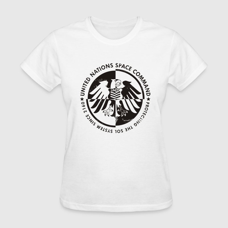 Deep heather UNSC Halo Women's T-Shirts - Women's T-Shirt