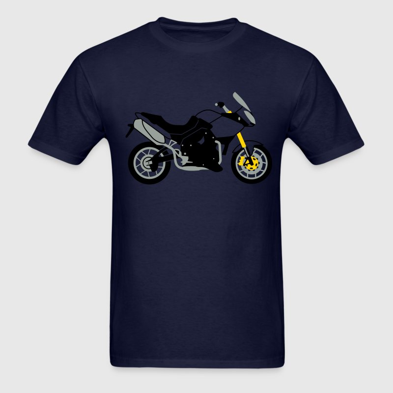 Navy Triumph Tiger 1050 T-Shirts - Men's T-Shirt