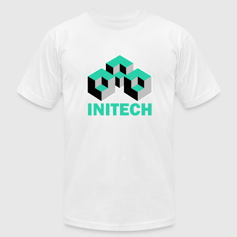 White Initech Office Space T-Shirts - Men's T-Shirt by American Apparel