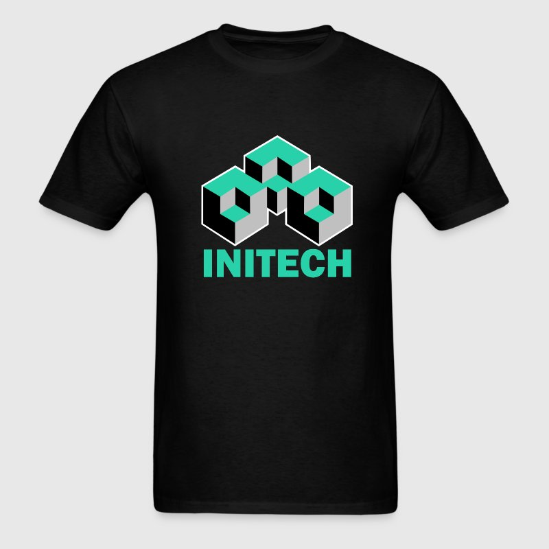 Black Initech Office Space T-Shirts - Men's T-Shirt