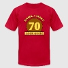 Sexy 70th Birthday - Men's T-Shirt by American Apparel