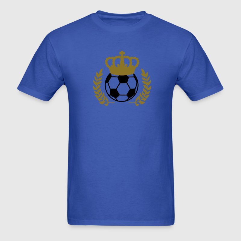 Royal blue soccer king T-Shirts - Men's T-Shirt