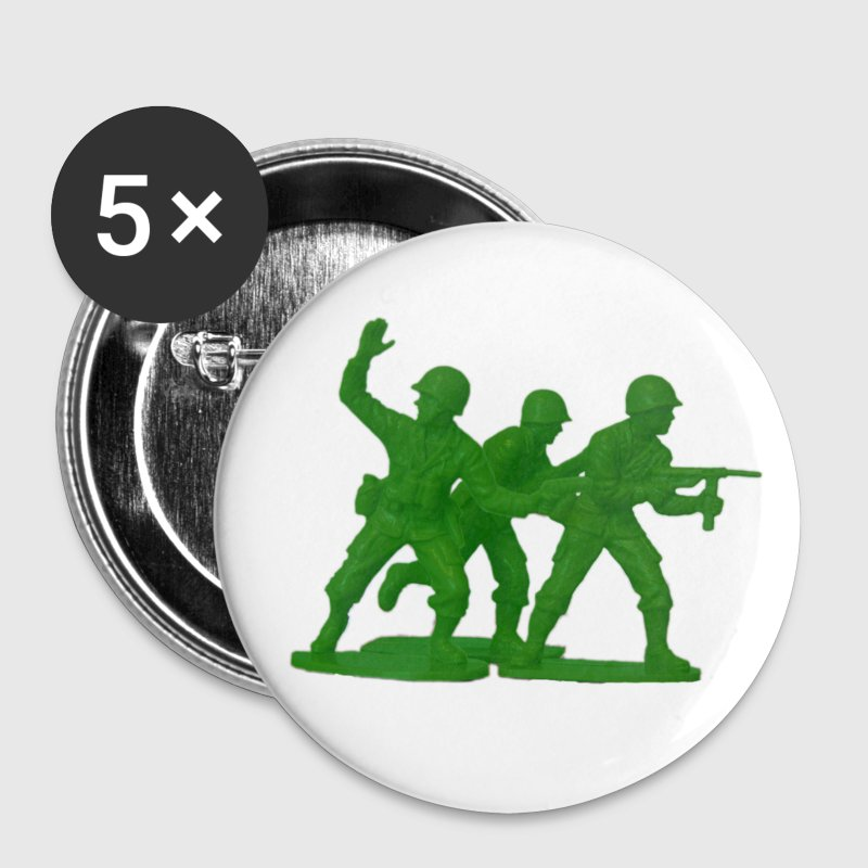 Army Men Detail Green - Small Buttons