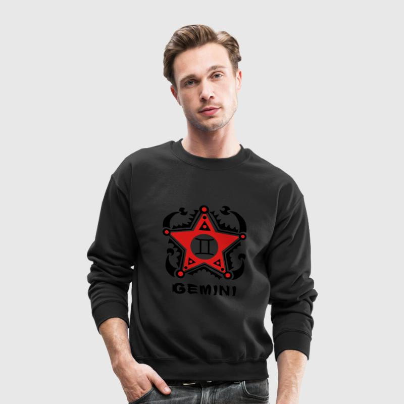 Twins Gemini Zodiac Sign - Crewneck Sweatshirt