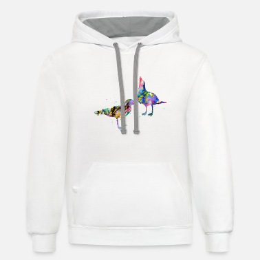 Seagull Seagulls - Contrast Hoodie