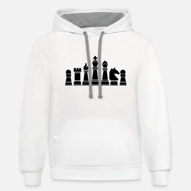 Chess Board chess board - Contrast Hoodie