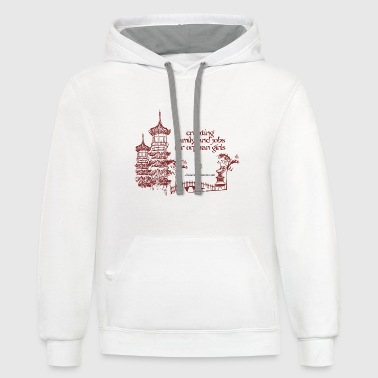Josiah's Covenant - creating family - Contrast Hoodie
