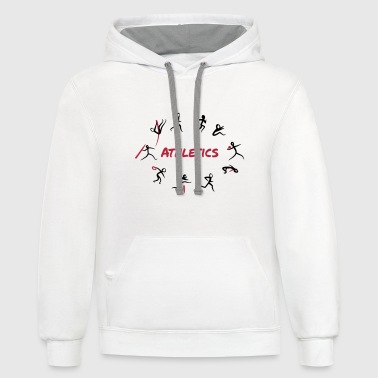 Athletics, Track and Field, Decathlon - Contrast Hoodie