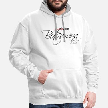Sleek Botswana Sleek - Light - Contrast Hoodie