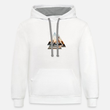 Bridge Golden gate bridge - Contrast Hoodie