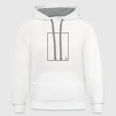 Art frame, what is Art - Contrast Hoodie