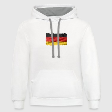 Germany Flag germany flag - Contrast Hoodie