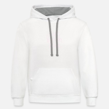 Live Laugh Love - Unisex Two-Tone Hoodie
