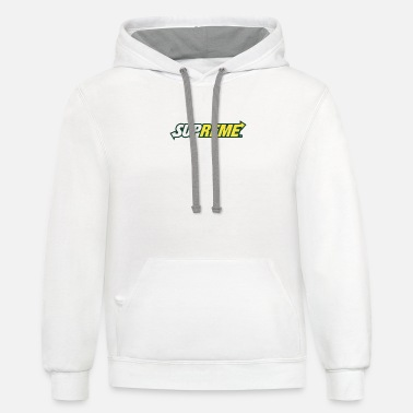 Subway Supreme Subway - Unisex Two-Tone Hoodie