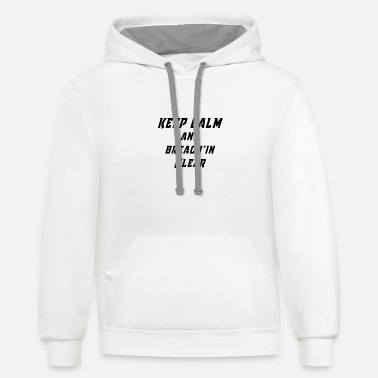 Rainbow Six Siege Keep calm and breach'in clear - Unisex Two-Tone Hoodie