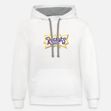 Rats Rugrats - Unisex Two-Tone Hoodie