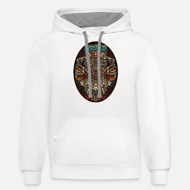 king of borneo - Unisex Two-Tone Hoodie
