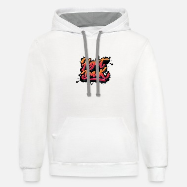FIGHT BACK - Unisex Two-Tone Hoodie