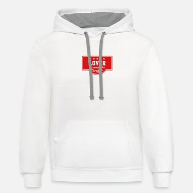 Romantic Joke Darling Lover - Recommended - Certified - Unisex Two-Tone Hoodie