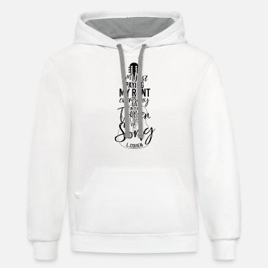 Jeff Buckley I'm just paying my rent every day in the tower - Unisex Two-Tone Hoodie
