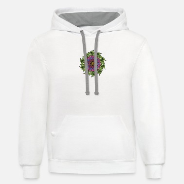 Mantra mantra - Unisex Two-Tone Hoodie