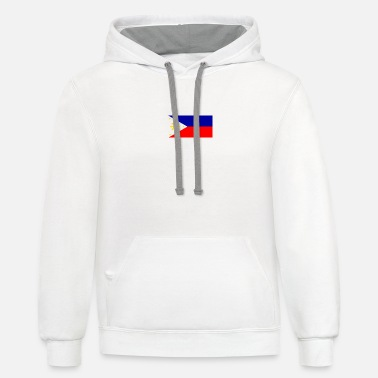 Filipino Flag Filipino flag - Unisex Two-Tone Hoodie