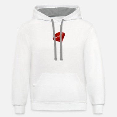 Multi Multi color - Unisex Two-Tone Hoodie