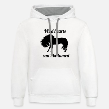 Horse Fan Amazing horse-riding Shirt, for real horse-fans! - Unisex Two-Tone Hoodie