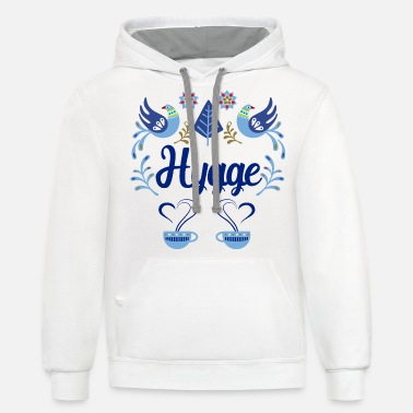 Hygge - Unisex Two-Tone Hoodie