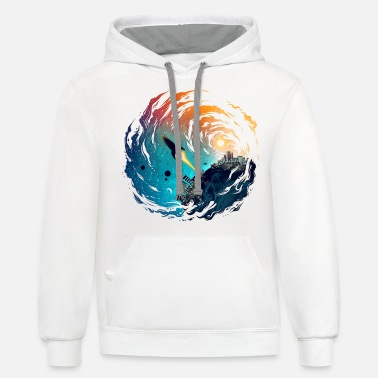 Missile The Missile - Unisex Two-Tone Hoodie