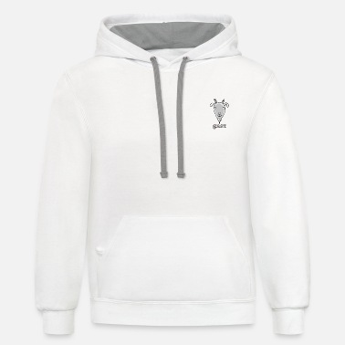 Goat Goat - Unisex Two-Tone Hoodie