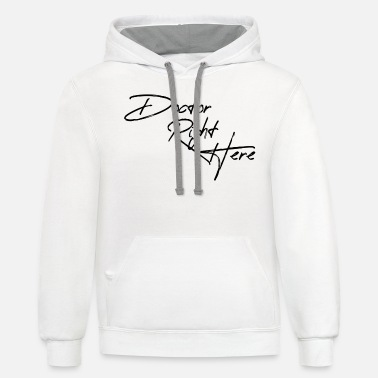 Doctor right here - Unisex Two-Tone Hoodie