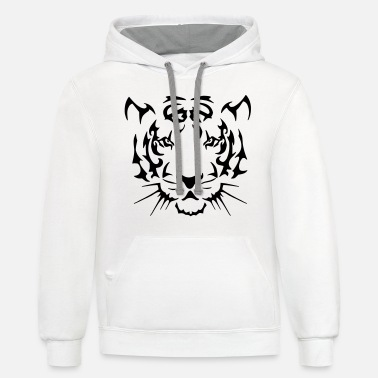 d6cfbcd0f Tribal Tiger Men's Hoodie | Spreadshirt