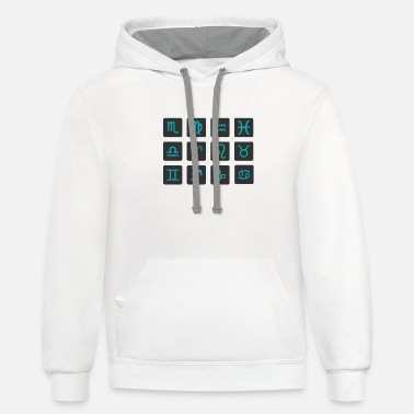 Astrology Astrology - Unisex Two-Tone Hoodie