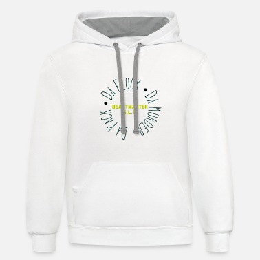Circle bslt circle of protection - Unisex Two-Tone Hoodie