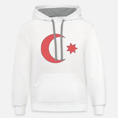 Ottoman Empire - Country Flag - Sultan Dynasty - Unisex Two-Tone Hoodie