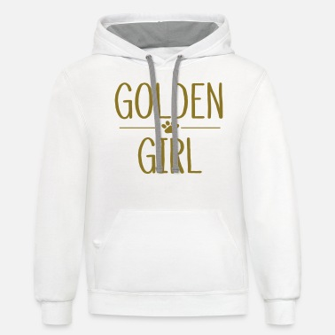 Gate Golden Girl - Unisex Two-Tone Hoodie