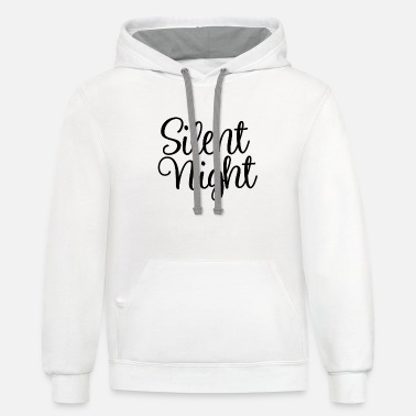 Silent Night Silent Night - Unisex Two-Tone Hoodie