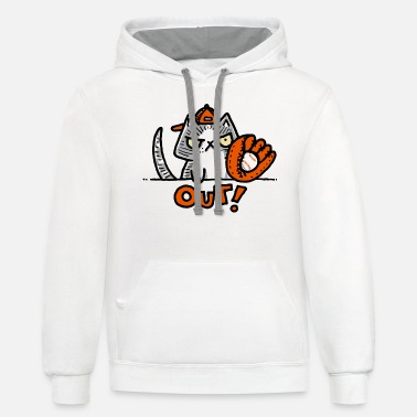 Outing Out - Unisex Two-Tone Hoodie
