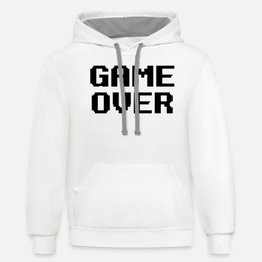 Game Over - Unisex Two-Tone Hoodie