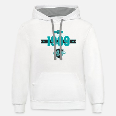 Born in 1989 - Unisex Two-Tone Hoodie