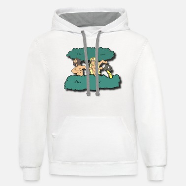 Adam And Eve Adam and Eve - Unisex Two-Tone Hoodie