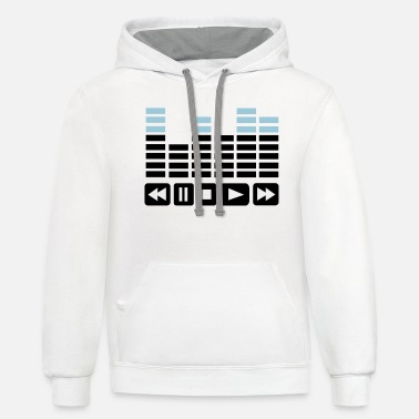 Equalizer Equalizer - Unisex Two-Tone Hoodie