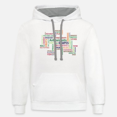 Fruits Fruits and vegetables - Unisex Two-Tone Hoodie