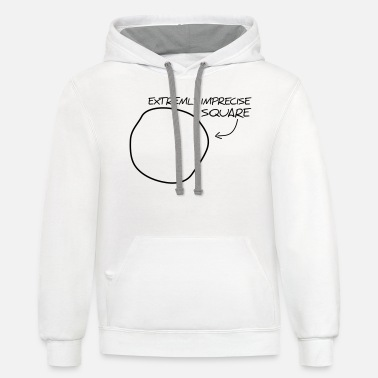 Quadrat Extremly imprecise square - Unisex Two-Tone Hoodie